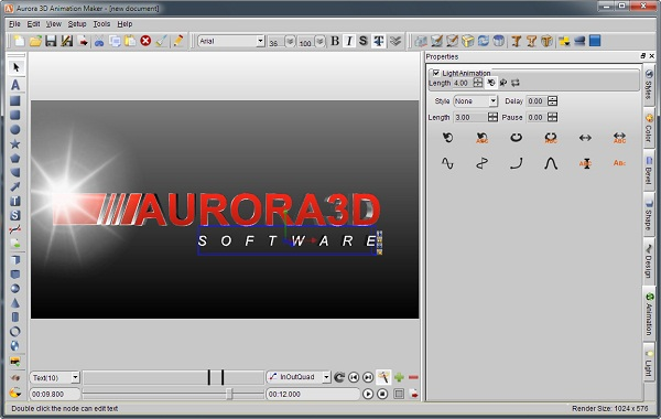 Aurora 3d Is Easy To Use 3d Animation Software