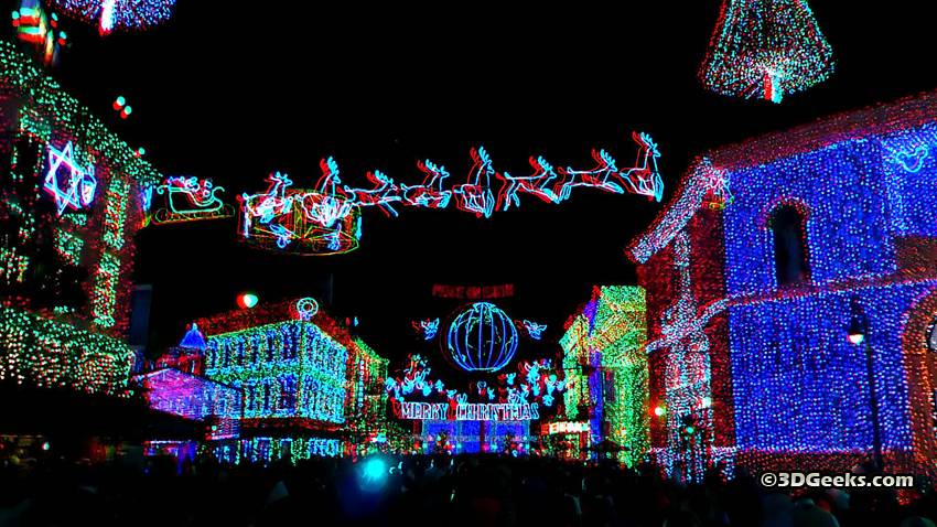 3D Picture of the Day: Christmas Lights