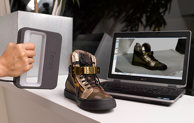 3D Systems Sense 3D Scanner is Professional Quality for DIY Price