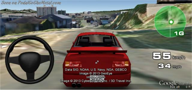 Google Earth Driving Simulator >> 3D Driving Simulator on Google Earth!
